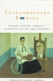 Cover of: Extraordinary bodies