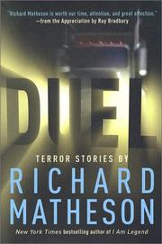 Cover of: Duel: Terror Stories By Richard Matheson