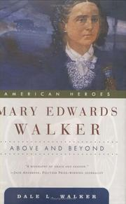 Cover of: Mary Edwards Walker | Dale L. Walker