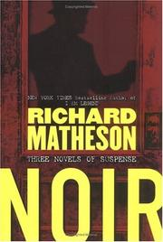 Cover of: Noir: Three Novels of Suspense