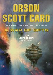 Cover of: A War of Gifts: An Ender Story