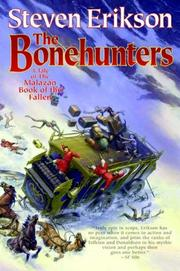 Cover of: The Bonehunters (The Malazan Book of the Fallen, Book 6) | Steven Erikson