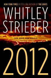 Cover of: 2012: The War for Souls