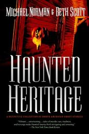 Cover of: Haunted Heritage | Michael Norman