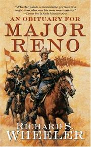 Cover of: An Obituary for Major Reno (Tom Doherty Associates Book)