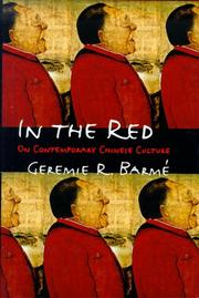 Cover of: In the red