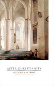 Cover of: After Christianity
