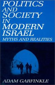 Cover of: Politics and Society in Modern Israel