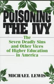 Cover of: Poisoning the ivy