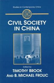 Cover of: Civil society in China |