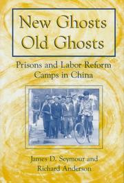 Cover of: New ghosts, old ghosts