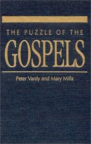 Cover of: The puzzle of the Gospels