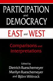Participation and Democracy East and West by