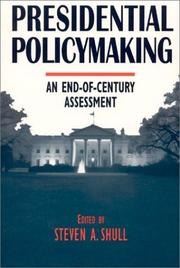 Cover of: Presidential policy making