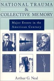 Cover of: National trauma and collective memory | Arthur G. Neal