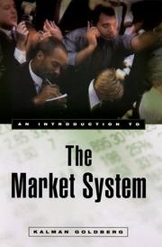Cover of: An Introduction to the Market System