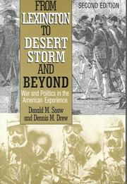 Cover of: From Lexington to Desert Storm and beyond