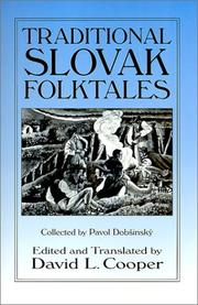 Cover of: Traditional Slovak Folktales (Folklore and Folk Cultures of Eastern Europe)