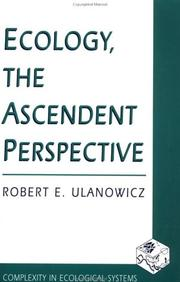 Cover of: Ecology, the ascendent perspective