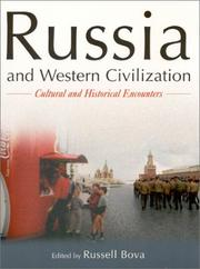 Cover of: Russia and Western Civilization | Russell Bova