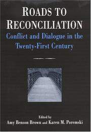 Cover of: Roads to reconciliation