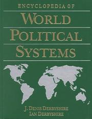 Cover of: Encyclopedia of world political systems