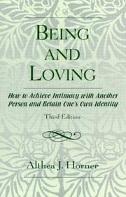Cover of: Being and loving