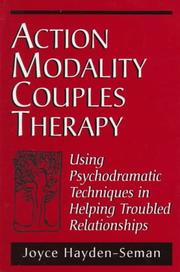 Cover of: Action modality couples therapy
