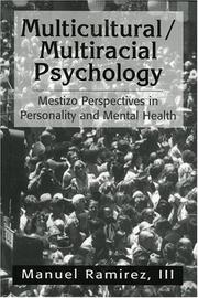Cover of: Multicultural/Multiracial Psychology