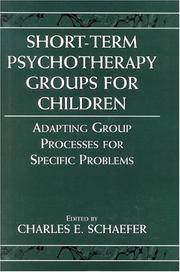 Cover of: Short-term Psychotherapy Groups for Children