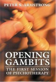 Cover of: Opening gambits