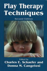 Cover of: Play Therapy Techniques