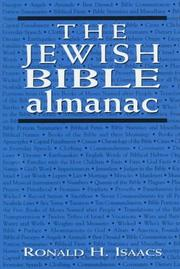 Cover of: The Jewish Bible almanac