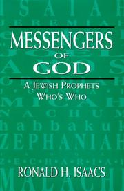 Cover of: Messengers of God: a Jewish prophets who's who