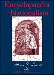 Cover of: Encyclopaedia of Nationalism | Athena Leoussi