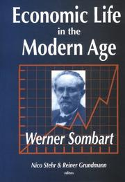 Cover of: Economic Life in the Modern Age
