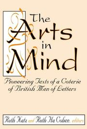 Cover of: The Arts in Mind |