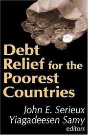 Cover of: Debt Relief for the Poorest Countries |