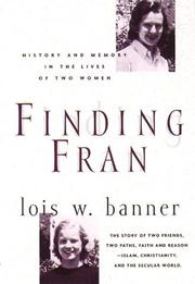 Cover of: Finding Fran | Lois Banner