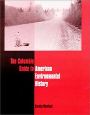 Cover of: The Columbia Guide to American Environmental History