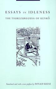 Cover of: Tsurezuregusa