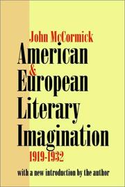 Cover of: American & European literary imagination, 1919-1932