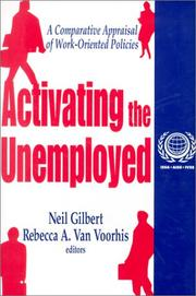 Cover of: Activating the Unemployed |