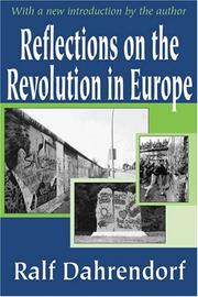 Cover of: Reflections on the Revolutions in Europe