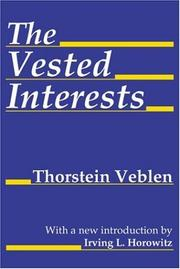 Cover of: The Vested Interests