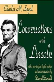 Cover of: Conversations with Lincoln
