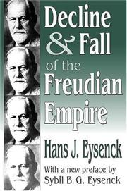 Cover of: Decline and fall of the Freudian empire