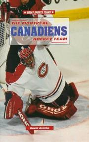 Cover of: The Montreal Canadiens hockey team