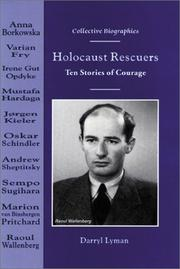 Cover of: Holocaust rescuers