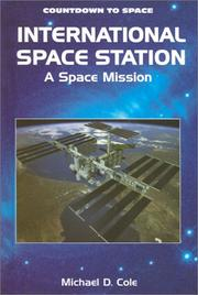 Cover of: International space station | Michael D. Cole